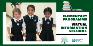 Join Us for our Elementary Information Sessions
