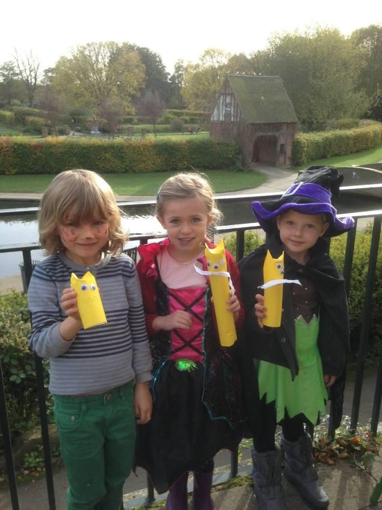 Rowntree Park halloween children event