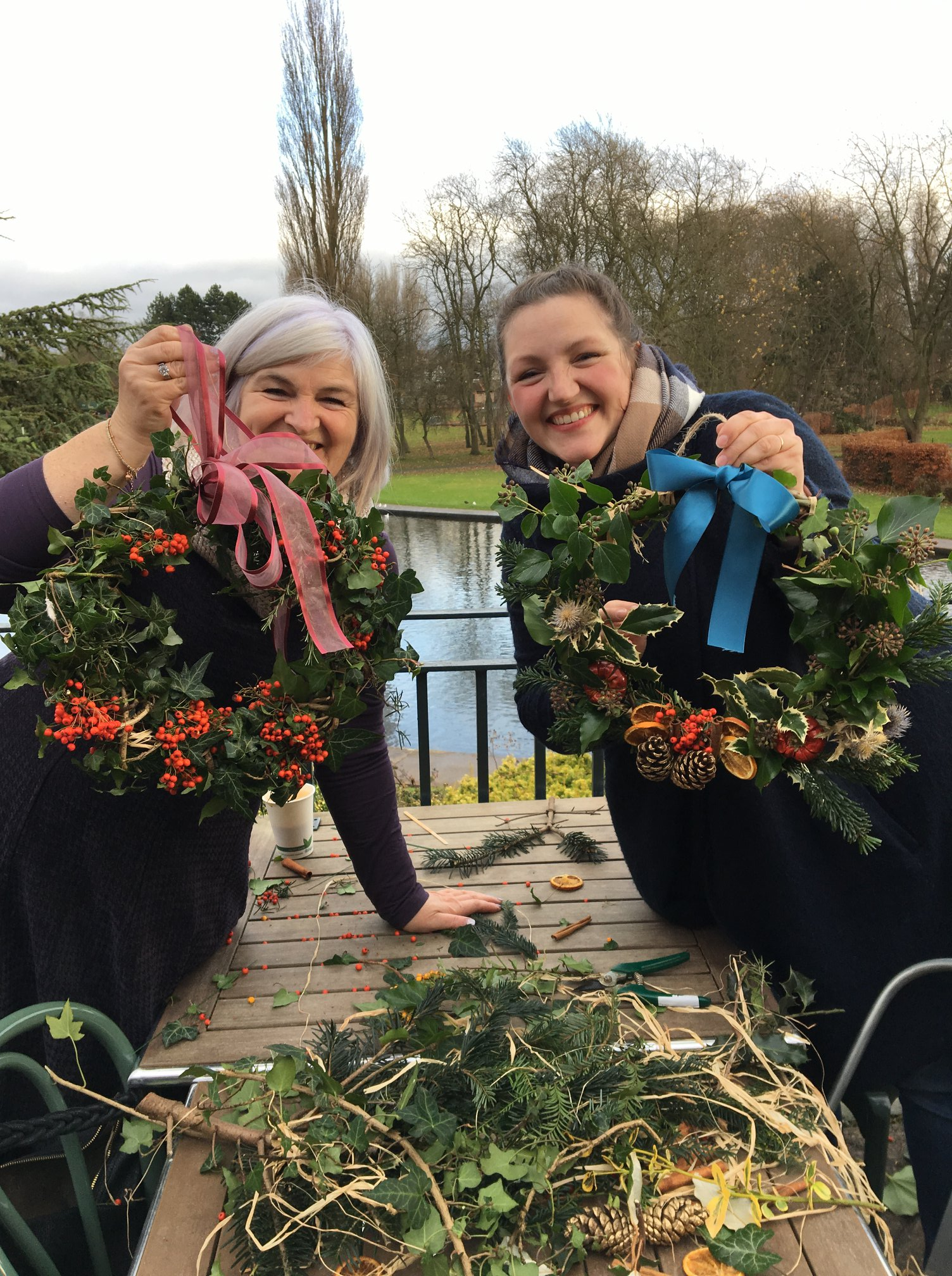 Rowntree Park Christmas Wreath making sessions