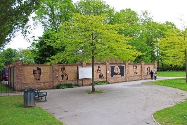 Rowntree Park art 2018 Natasha Clarke