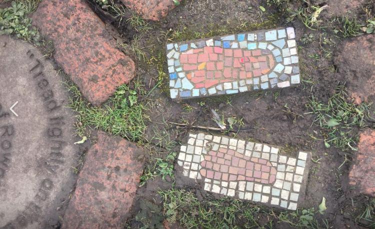 Rowntree Park Maze mosiac