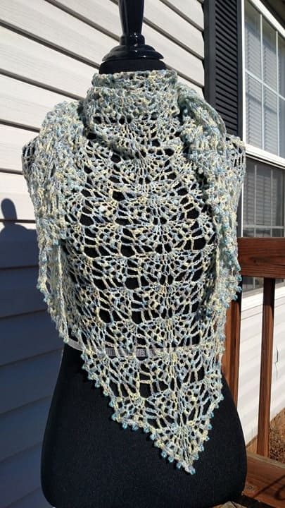 beaded shawl