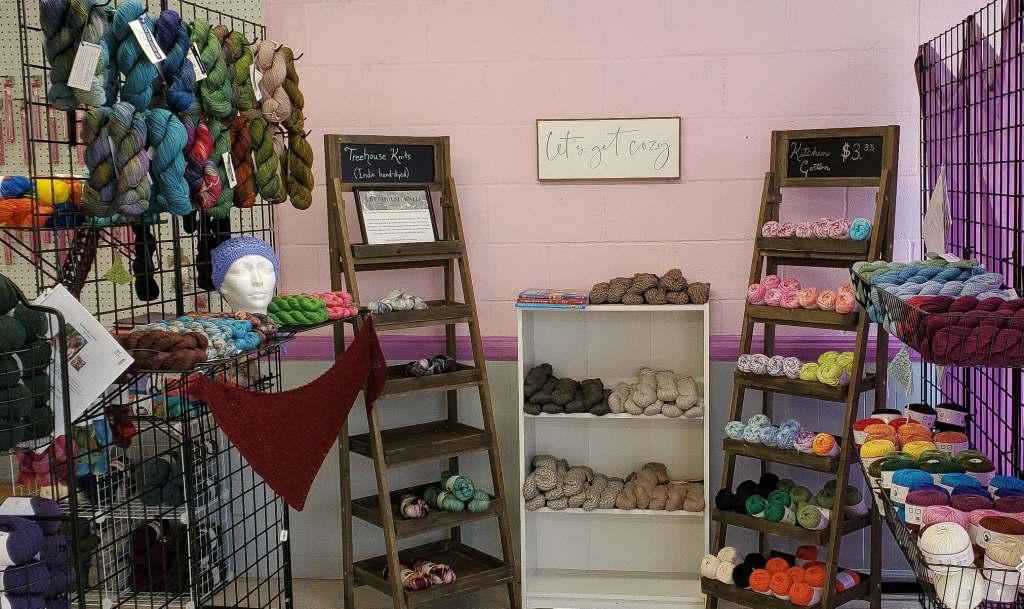 Shop inside view