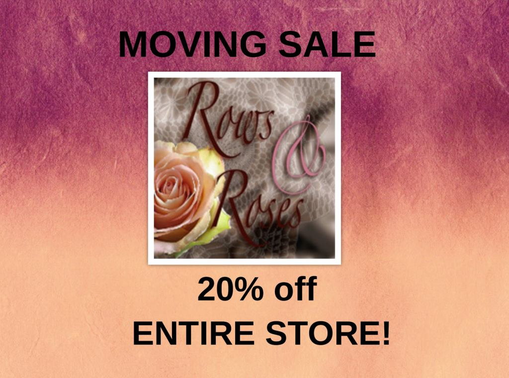 moving sale 20% off