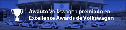 Awauto Volkswagen premiado en Excellence Awards de Volkswagen