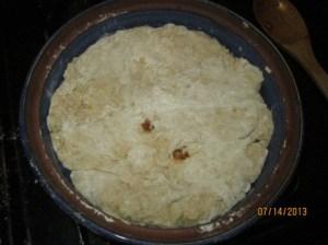 Ibanana dough bottom
