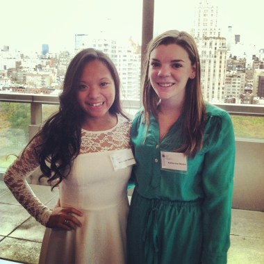 Source: Myself; Katie & I at the conference channeling our inner Kate Middleton.
