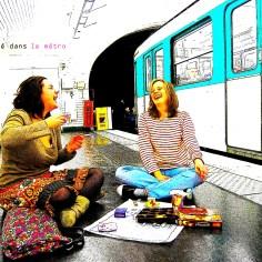 Prendre le Thé dans le Métro