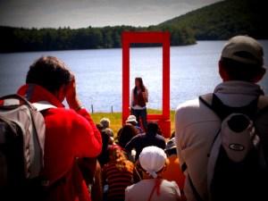 Festival Paroles de Conteurs, Vassivière, août 2012