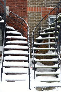 escaliers de Villeray