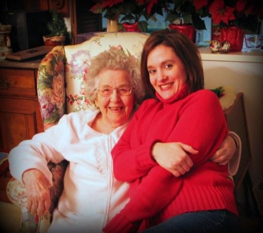 Christmas and New Year's 2009 Grandma and me (2)B