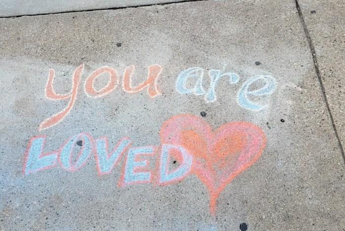 Sidewalk Stories: Sidewalk chalk a success, despite news report
