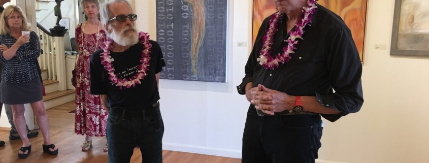 Tony Walholm and Darrell Orwig, Jurors for the Voyaging Exhibition