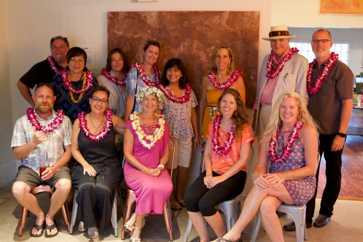 Contributors to I Am Maui, photo by Shane Robinson