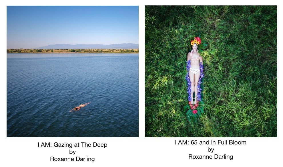 Two photos by Roxanne Darling