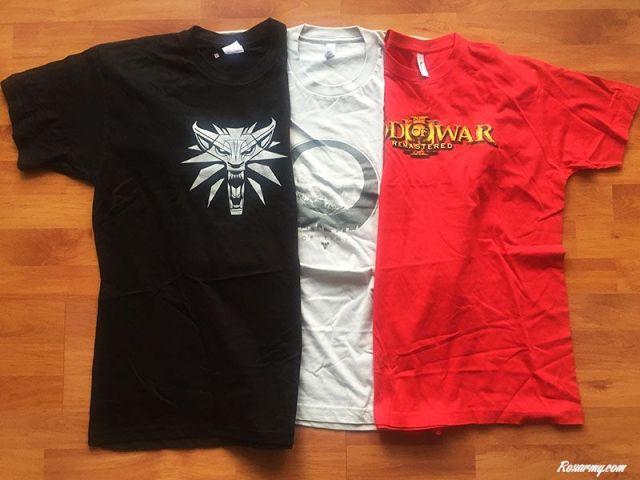3 t-shirts Collector à gagner pour les 6 ans de Roxarmy