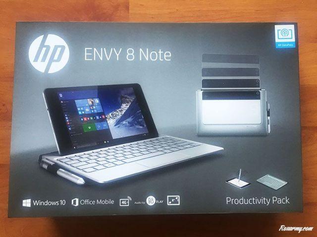 Pack de productivité 2-en-1 HP Envy Note 8