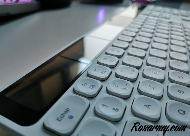 clavier solaire