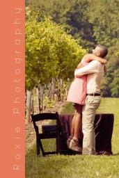 Proposal @ Childress Vineyards