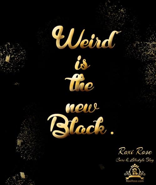 black weird