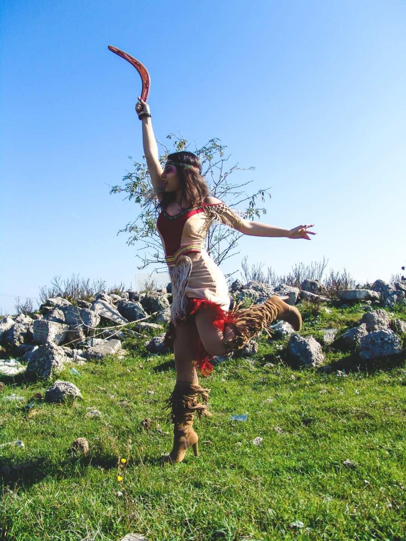 roxi rose fashion blog romania halloween indian native costume wildfashion (10)