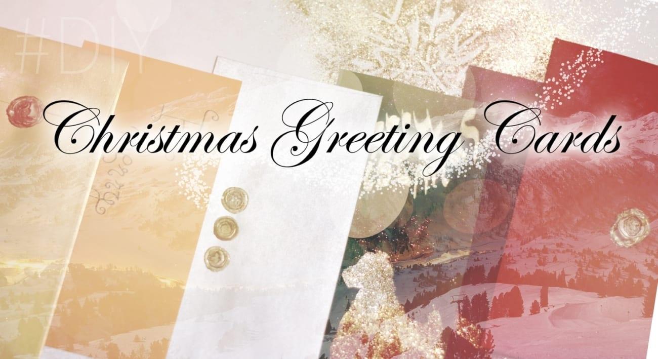 Diy Christmas Greeting Cards Roxi Rose Style Blog Diary Stories