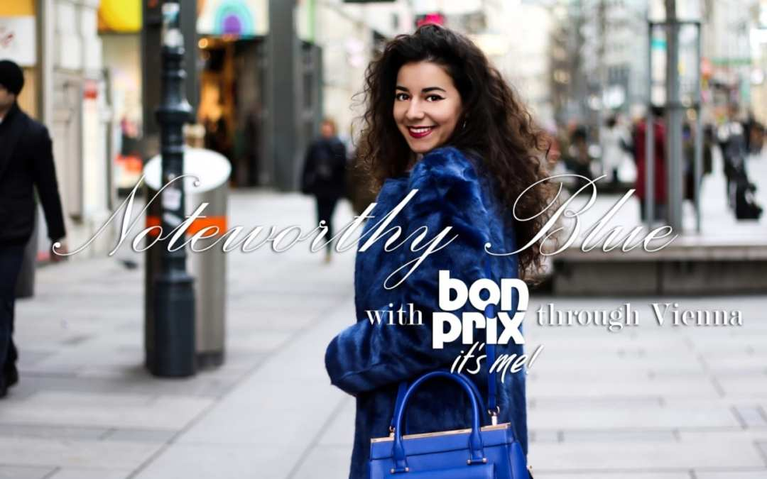 Royal BLUE must-haves with BonPrix
