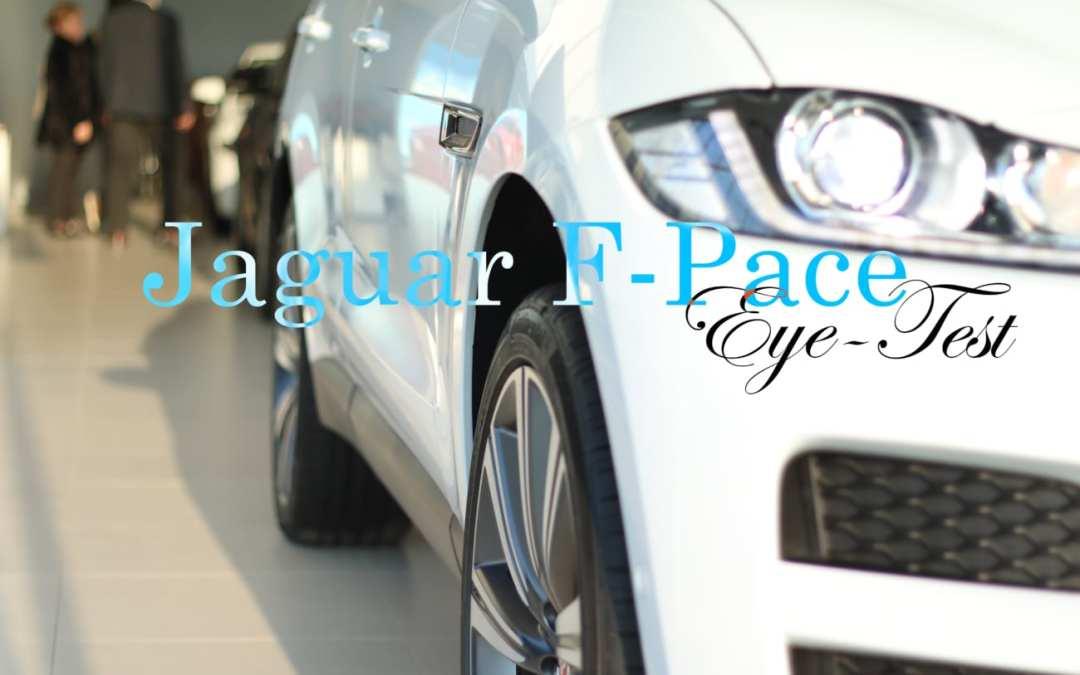 JAGUAR F-PACE eye-test