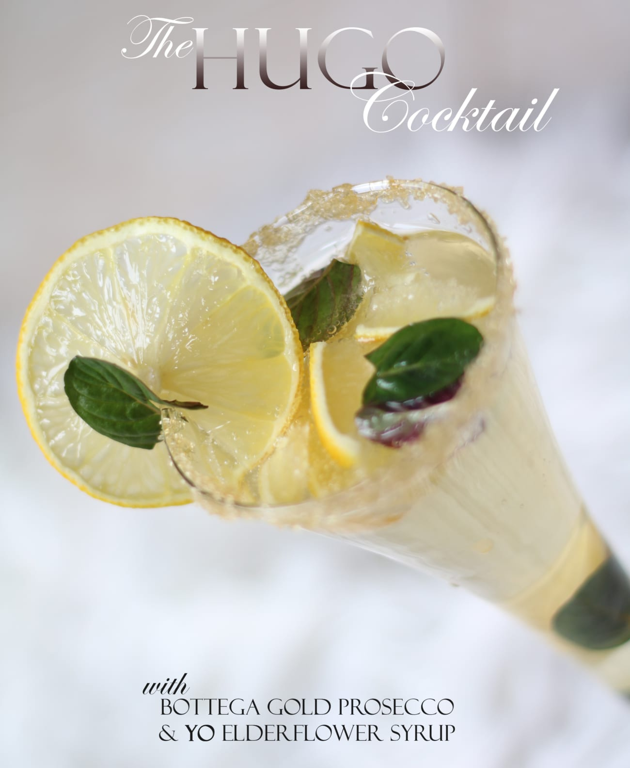 Home Afternoons: The HUGO Cocktail Reinvented