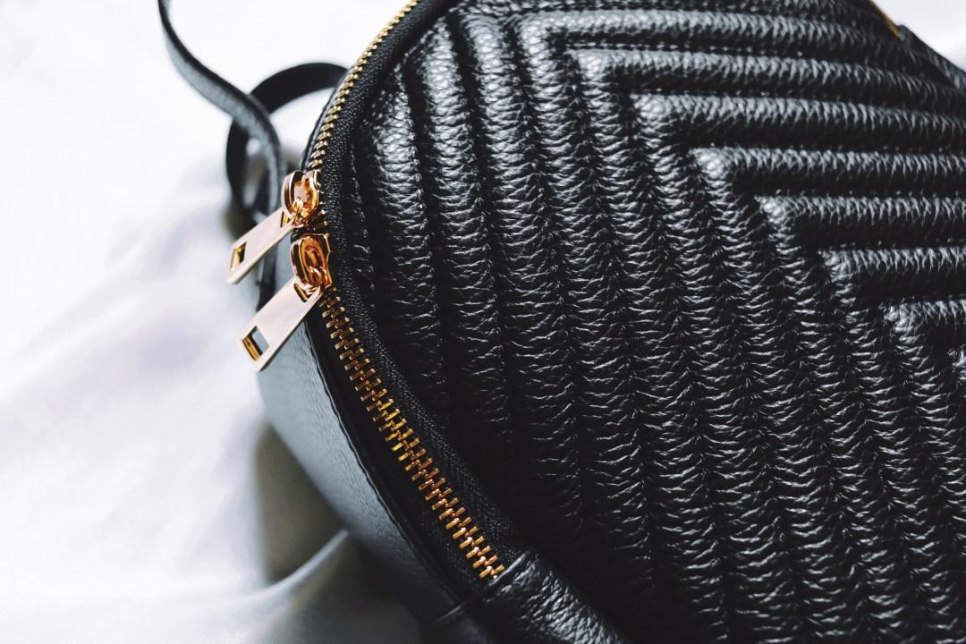 Ghiozdan piele dama ieftina femei ecologica calitate pret negru