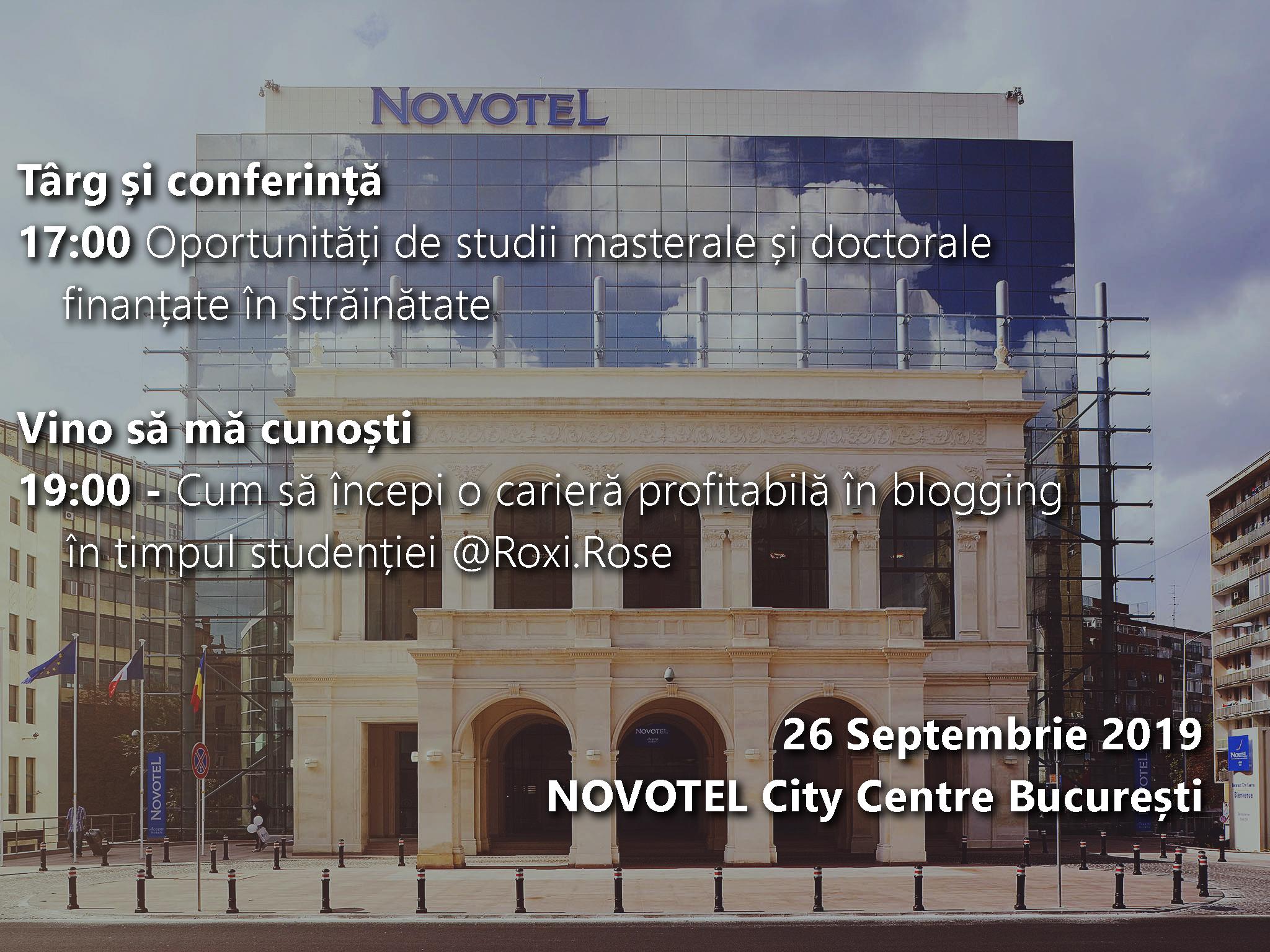 QS – Târg și conferință pentru masteranzi și doctoranzi – București 26 Sept.
