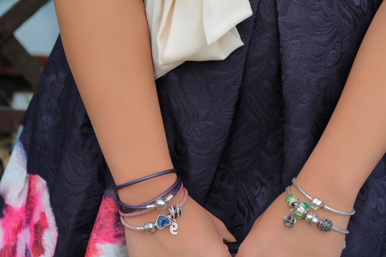pandora bracelets soufeel charms photo blogger collaboration