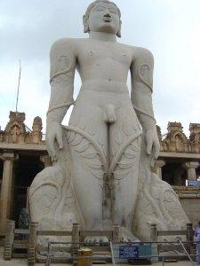 Bahubali+Gommateshwara+Statue,+Shravanabelagola+Karnataka,+India