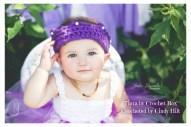 Tiara crocheted by Cindy Hilt