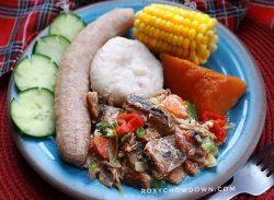 Jamaican Salt Mackerel Rundown Recipe by RoxyChowDown.com