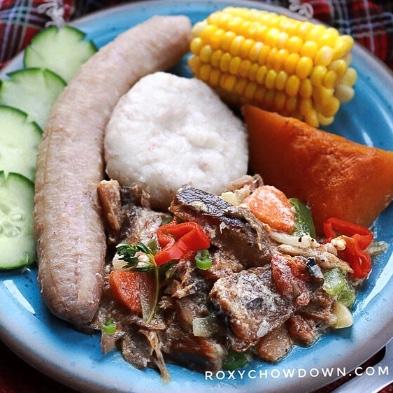 Jamaican Mackerel Rundown Recipe by RoxyChowDown.com
