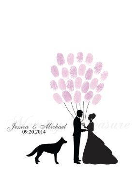 https://www.etsy.com/listing/256181095/wedding-fingerprint-guestbook-dog-pet