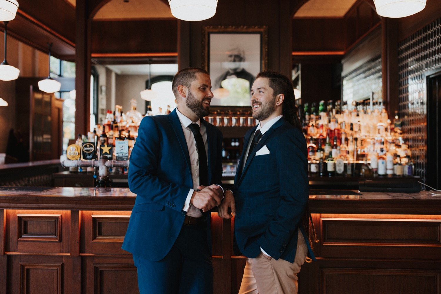 Two Grooms by Aisling Bourke