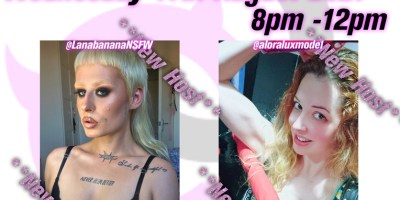 11th August Evening party with Aloralux and Lana Banana