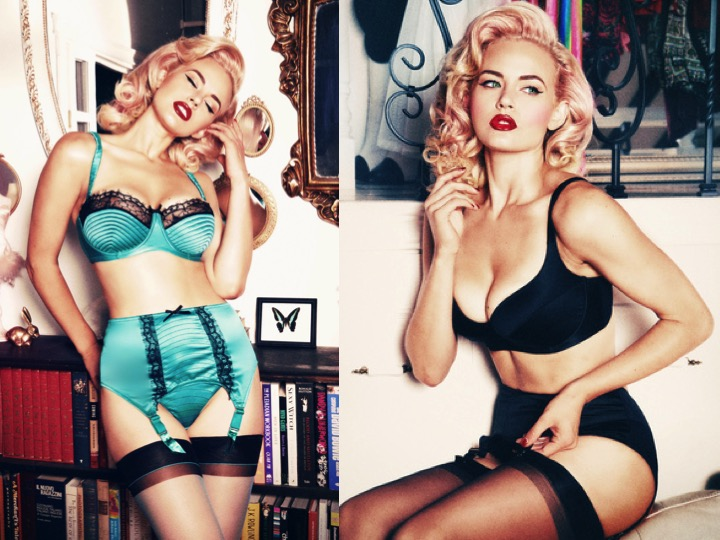 Pinup Style Lingerie 97