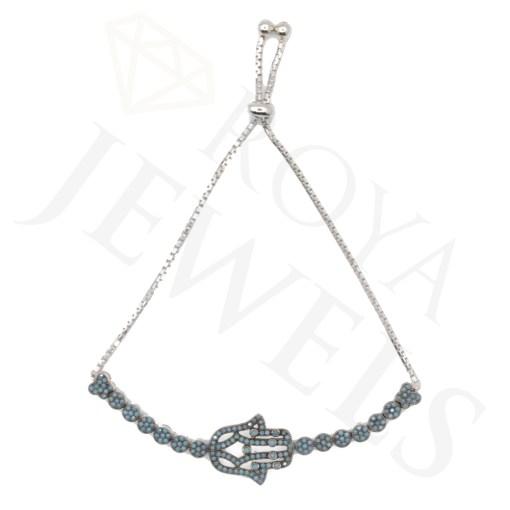 Hamsa Silver Bracelet Roya Jewels