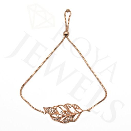 Necklace Rose Leaf Roya Jewels