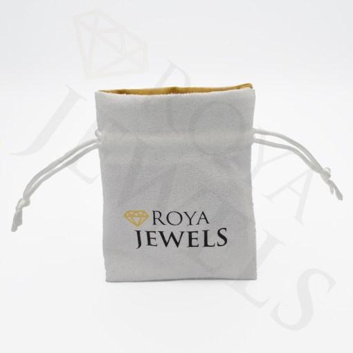 Suede Jewelry Pouch Roya Jewels