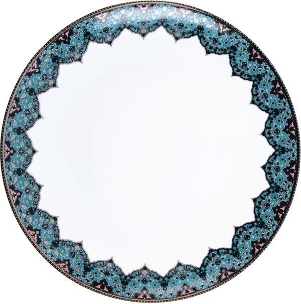 Plat plat - Dhara bleu