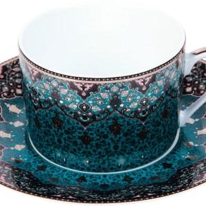Tasse thé - Dhara bleu