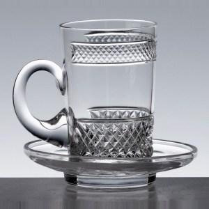 Tasse thé large Séville - Cristal de Paris