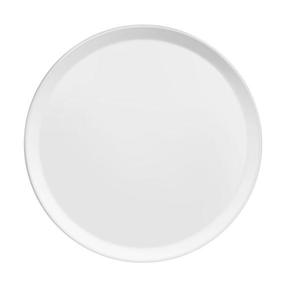 Assiette plate Yaka Blanc - Médard de Noblat