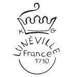 Logo de la manufacture de faïence de Lunéville