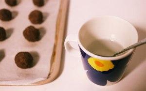 チョコレートクッキー, 生地, 成形