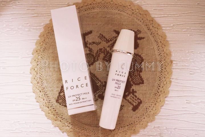 ライスフォース, 口コミ, スキンケア, 通販化粧品, UVプロテクトミルク